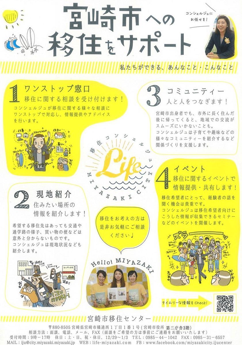 宮崎への移住をサポート 1
